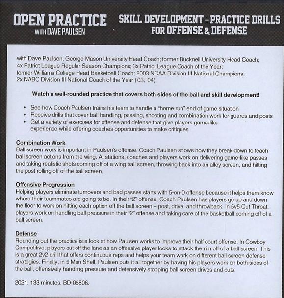(Rental)-Basketball Skill Development & Practice Drills for Offense & Defense
