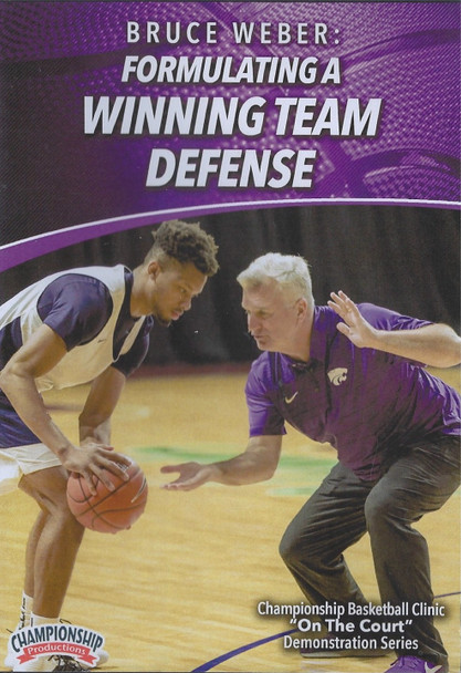 Formulating a Winning Team Defense by Bruce Weber Instructional Basketball Coaching Video