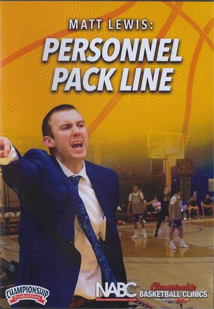 Personnnel Pack Line Defense by Matt Lewis Instructional Basketball Coaching Video