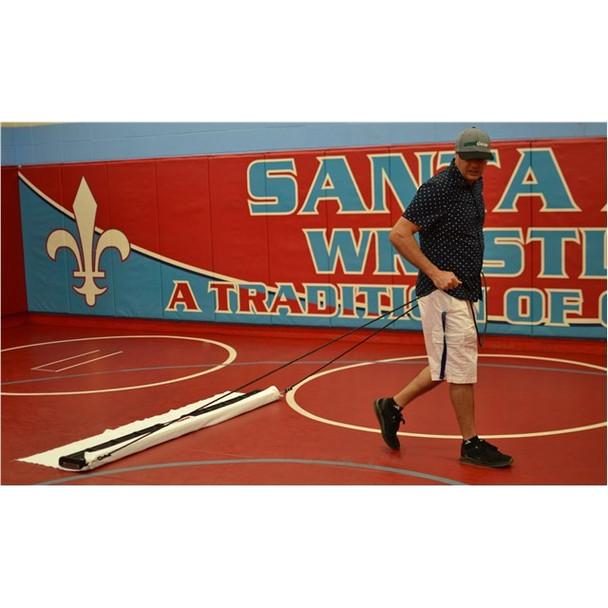 wrestling mat cleaning machine
