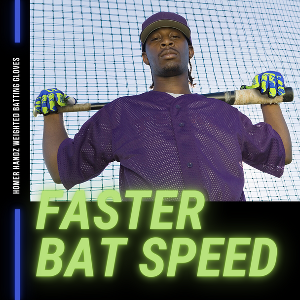 Homer Handz Weighted Batting Gloves Increase Bat Speed