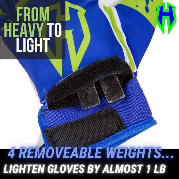 Homer Handz Weighted Batting Gloves Adjust Weights