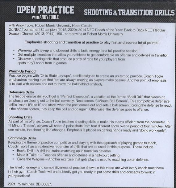 (Rental)-Shooting & Transition Drills