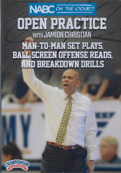 Man to Man Set Plays, Ball Screen Offense Reads, & Breakdown Drills by Jamion Christian Instructional Basketball Coaching Video