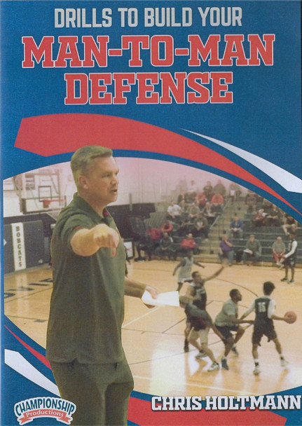 Drills to Build Your Man to Man Defense by Chris Holtman Instructional Basketball Coaching Video