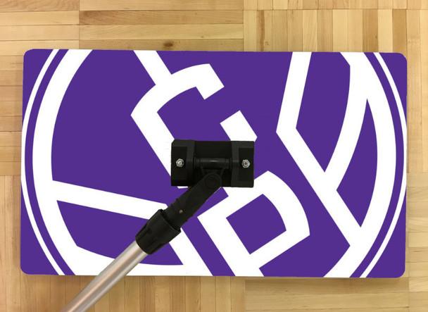 custom sweat mop volleyball basketball gym logo colors