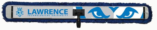 custom 48x6 microfiber sweat mop basketball volleyball gym school hospital