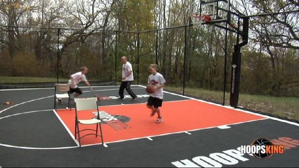 Shooting drills for junior high basketball players