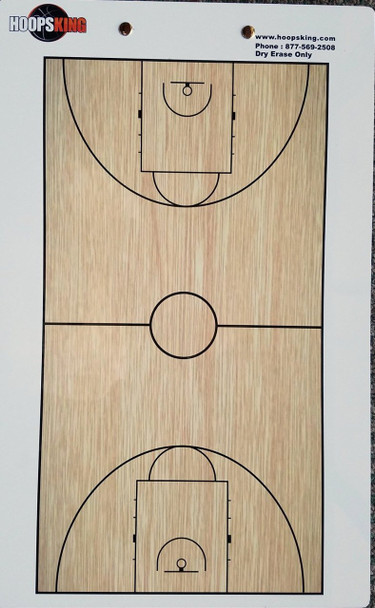 Two 2 sided basketball coaching board