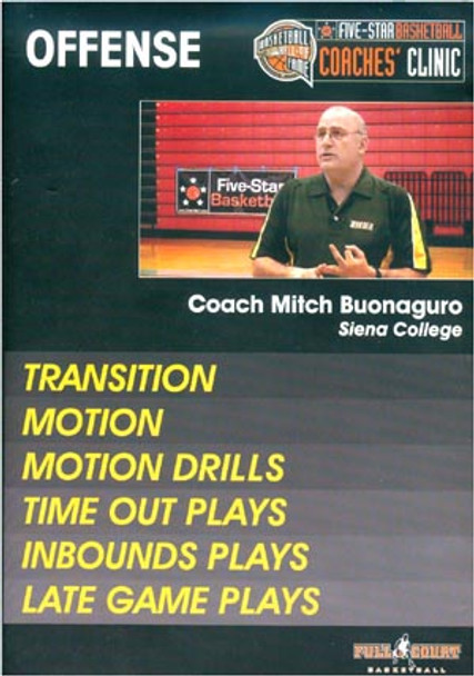 Offense: Transition, Motion, & Plays