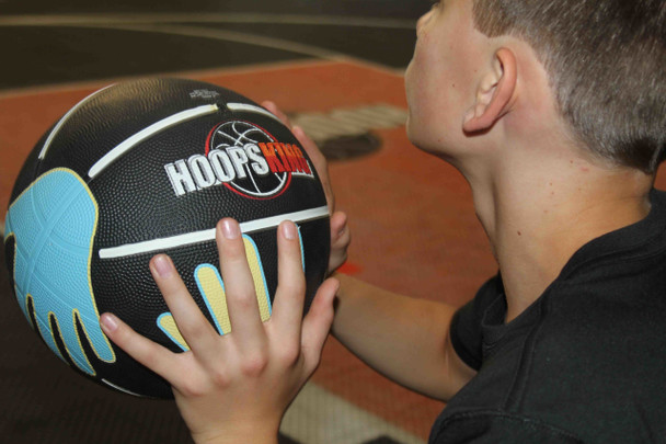 learn how to hold a basketball for weak hand layup