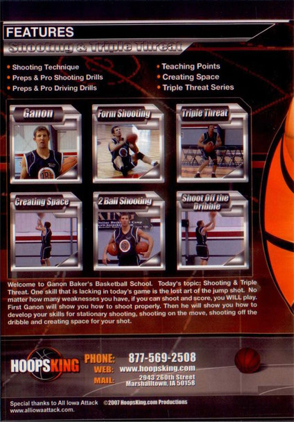 Ganon Baker Basketball Shooting drills