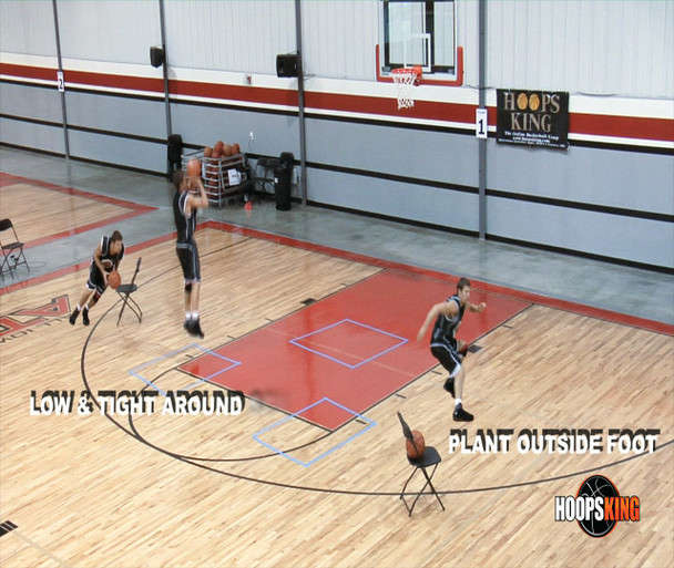Basketball shooting drills for one person