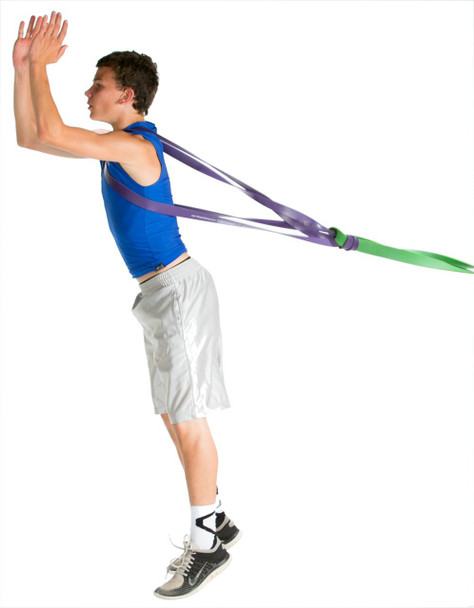 P.R.O. Basketball Resistance Band - jump