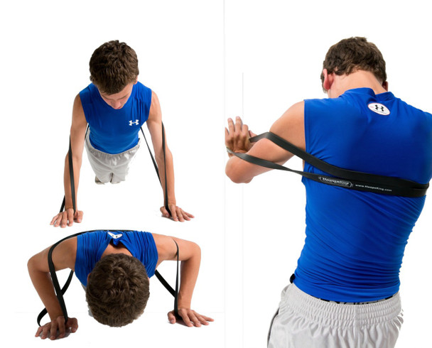 P.R.O. Basketball Resistance Band - push ups