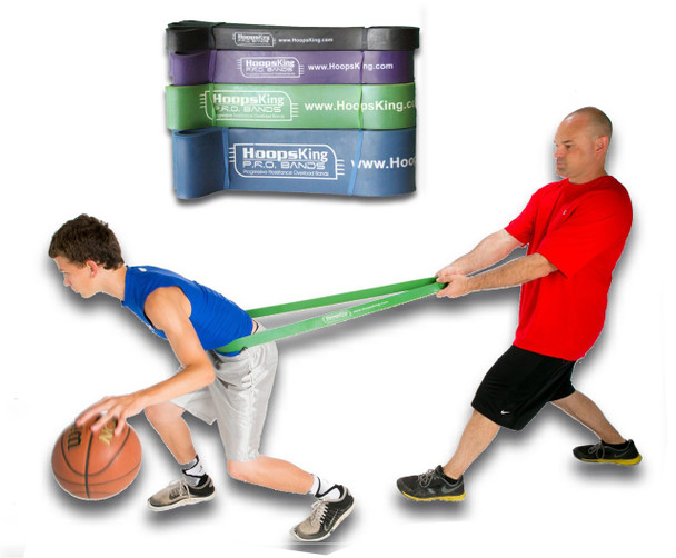 P.R.O. Basketball Resistance Band - side - product up close