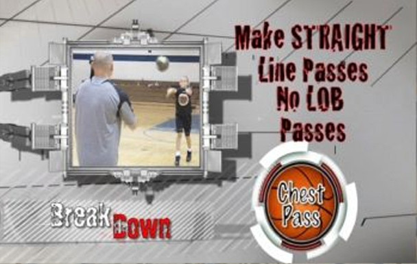 Youth basketball instructional basketball video.