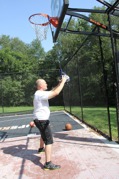 Basketball Grab and Control System