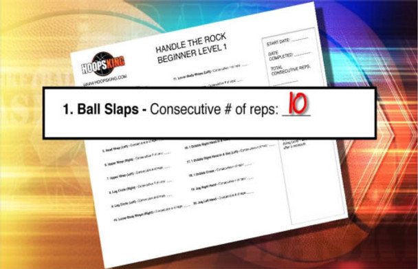 Evaluation sheets can be printed off DVD so you can test yourself.  Pass and move to the next workout.