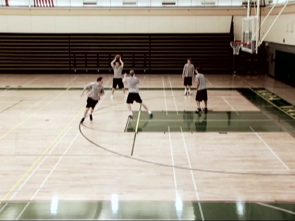 high low triangle offense video