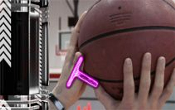 How to hold the basketball correctly when shooting.