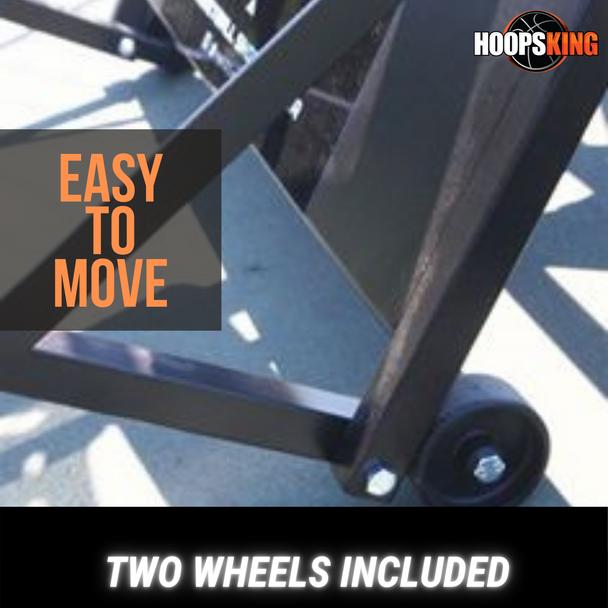Wheel Kit for the iC3 Basketball Shot Rebounder