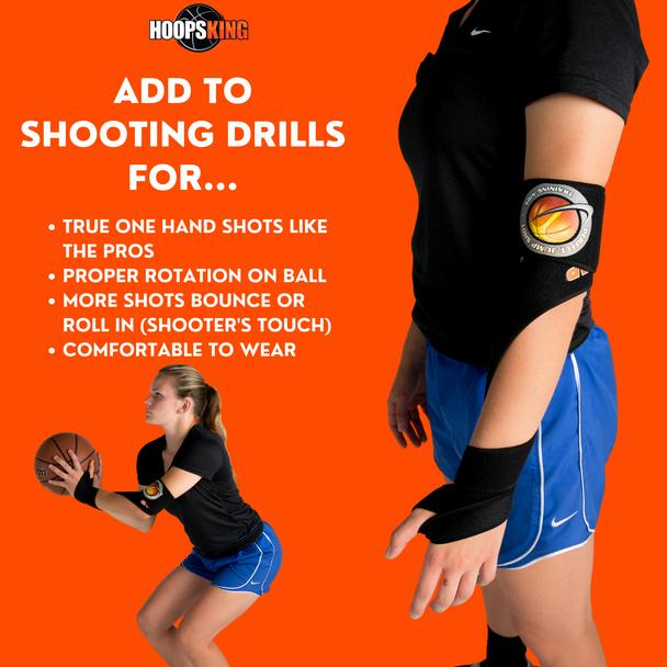 Basketball Off Hand Shooting Aid