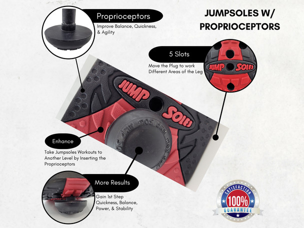 Jumpsoles Proprioceptors Training