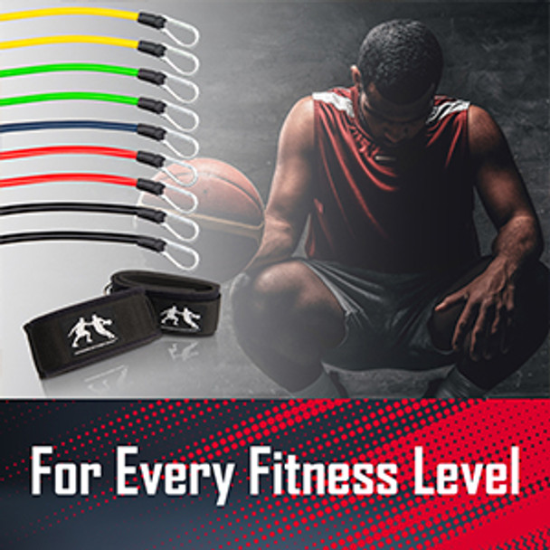 The LockDown bands will even help develop core strength during stationary dribbling drills.