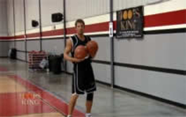 use a wall for your passing drills