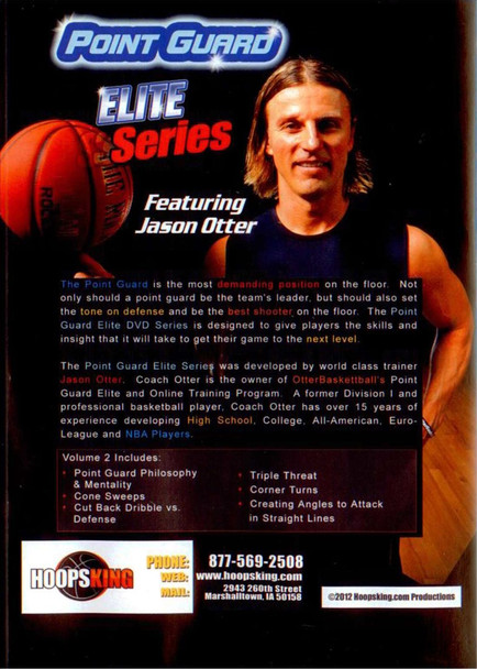Jason Otter Point Guard Elite Camps