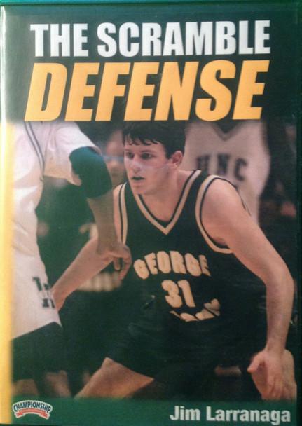The Scramble Defense by Jim Larranaga Instructional Basketball Coaching Video