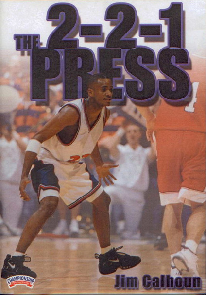 The 2--2--1 Press by Jim Calhoun Instructional Basketball Coaching Video
