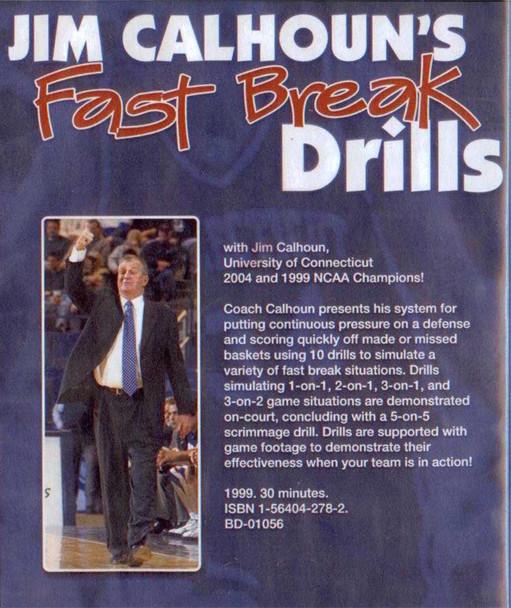 (Rental)-Jim Calhoun's Fast Break Drills