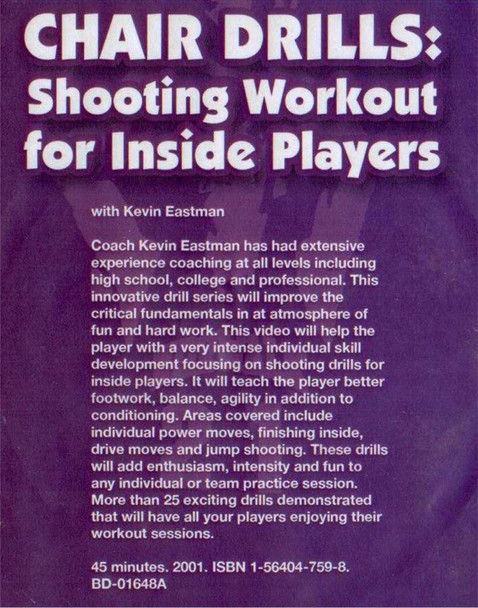 (Rental)-Chair Drills: Shooting Workout For Inside Players