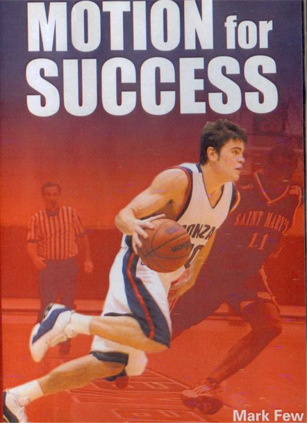 Motion For Success by Mark Few Instructional Basketball Coaching Video