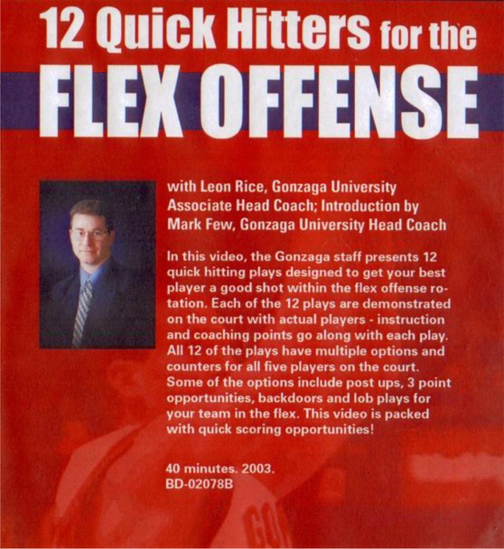 (Rental)-12 Quick Hitters For The Flex Offense
