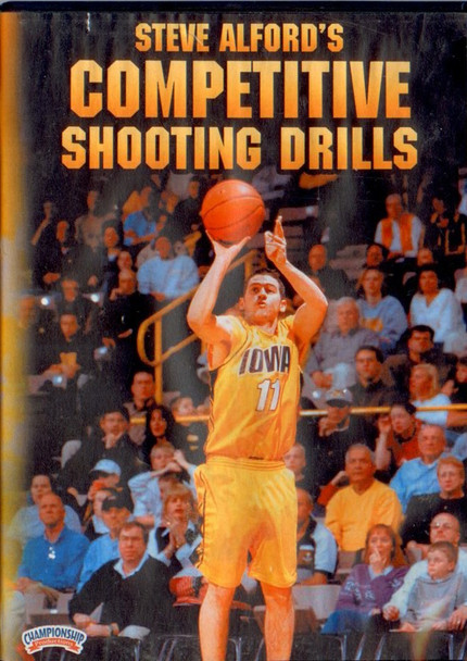 Steve Alford's Competitive Shooting Drills by Steve Alford Instructional Basketball Coaching Video
