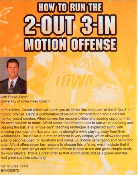 (Rental)-How To Run The 2 Out 3 In Motion Offense