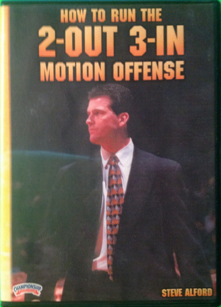 How To Run The 2 Out 3 In Motion Offense by Steve Alford Instructional Basketball Coaching Video