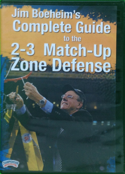 Jim Boeheim's Complete Guide To The 2--3 Match--up by Jim Boeheim Instructional Basketball Coaching Video