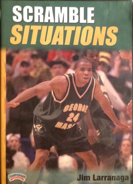 Scramble Situations by Jim Larranaga Instructional Basketball Coaching Video