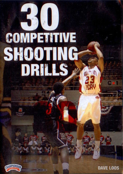 30 Competitive Shooting Drills by Dave Loos Instructional Basketball Coaching Video