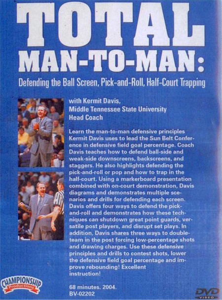 (Rental)-Total Man--to--man - Defending The Ball Screen