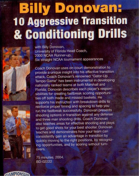 (Rental)-10 Aggressive Transition & Conditioning Drills