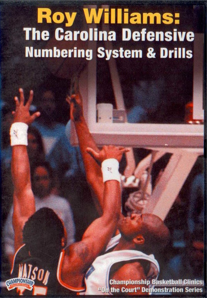 Roy Williams: The Carolina Defensive Numbering by Roy Williams Instructional Basketball Coaching Video