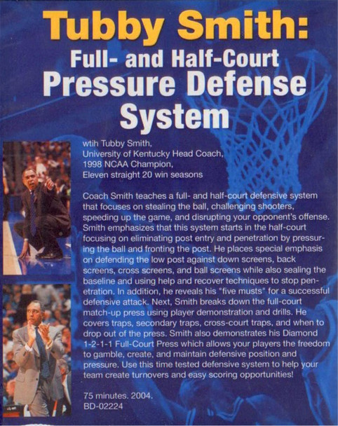 (Rental)-Tubby Smith: Full And Half--court Pressure