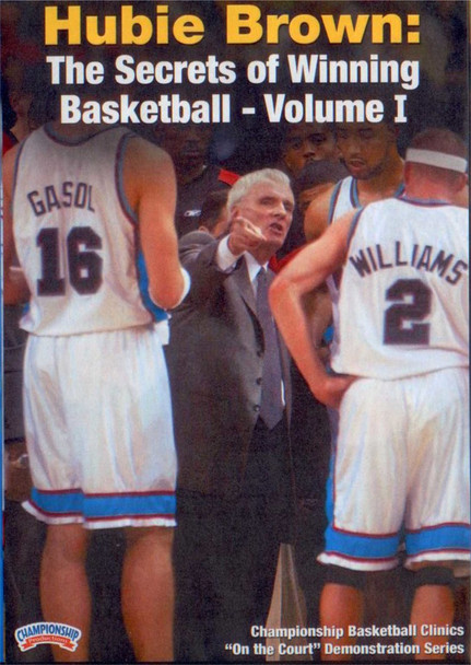 The Secrets Of Winning Basketball Vol. 1 by Hubie Brown Instructional Basketball Coaching Video