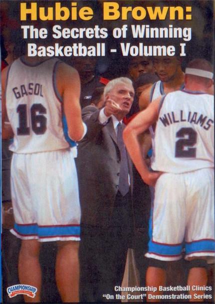 The Secrets Of Winning Basketball Vol. 1 by Hubie Brown Instructional Basketball Coaching Video