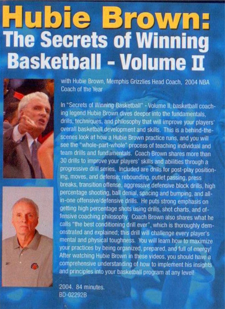 (Rental)-The Secrets Of Winning Basketball Vol. 2